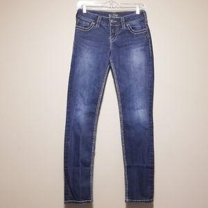 Silver Suki Skinny Jeans